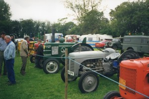 More vintage tractors.  We hope to have a good selection at this year's show.